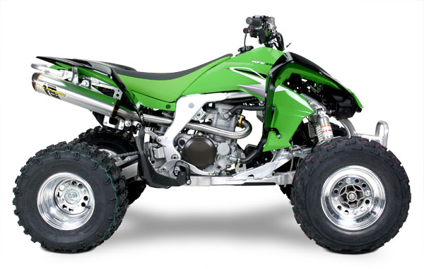 Kawasaki KFX450R Two Brothers Full Exhaust Performance Package