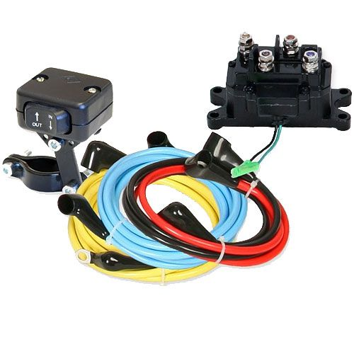 KFI-Universal-12V-Wiring-Kit Replacement Wiring Harness Smoke on brake pads replacement, safety harness replacement, ford oem wire harness replacement, brake switch replacement, ignition cylinder replacement,