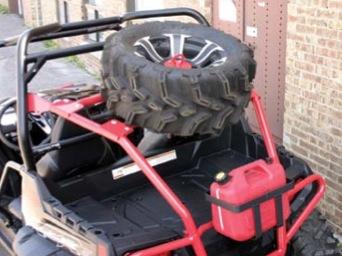 Quadrax Spare Tire Holder Spare Tire Mount