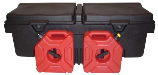 Quadrax Utv Cargo Box Vm Q
