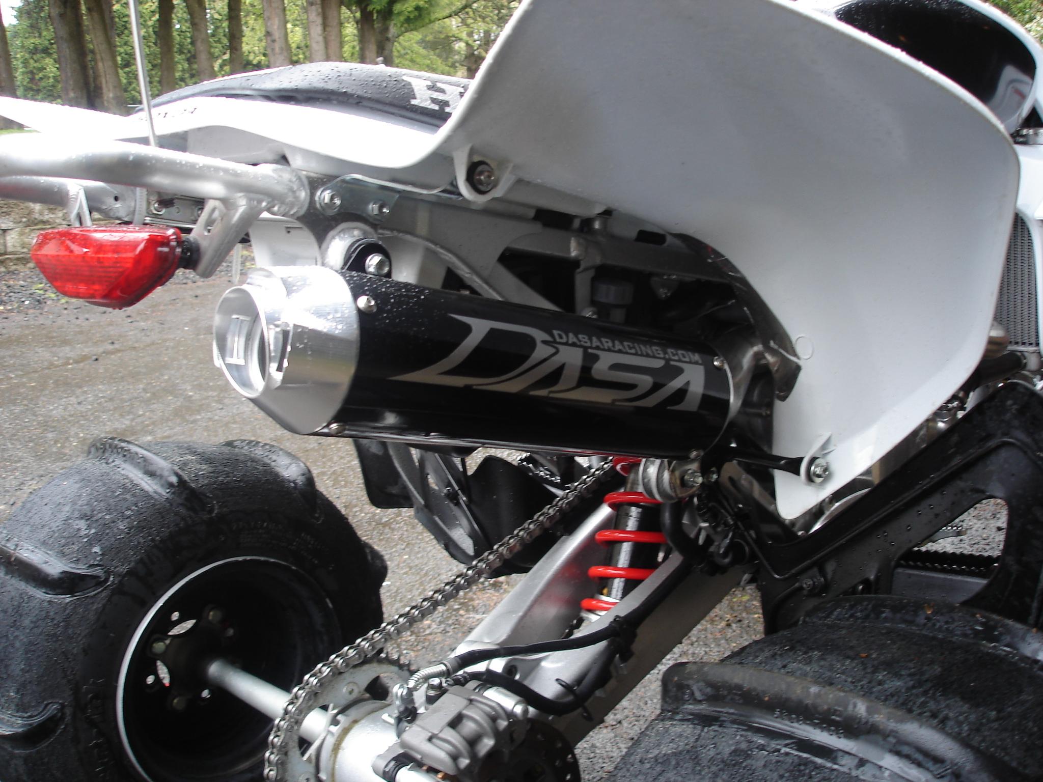 2006 honda trx450r exhaust