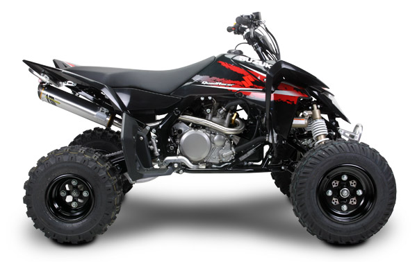 LTR450 Two Brothers Full Exhaust Performance Package