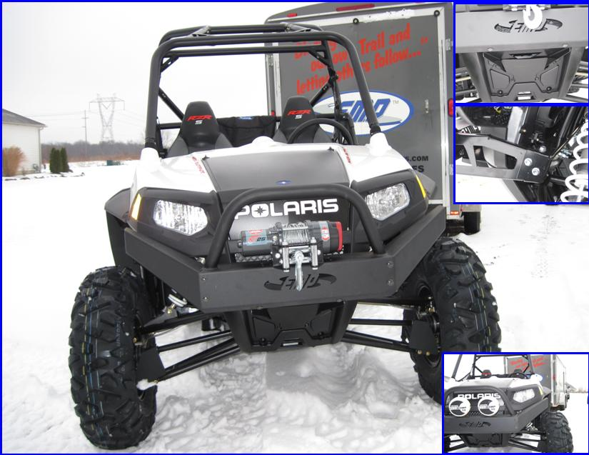 Extreme Front Bumper With Winch Mount